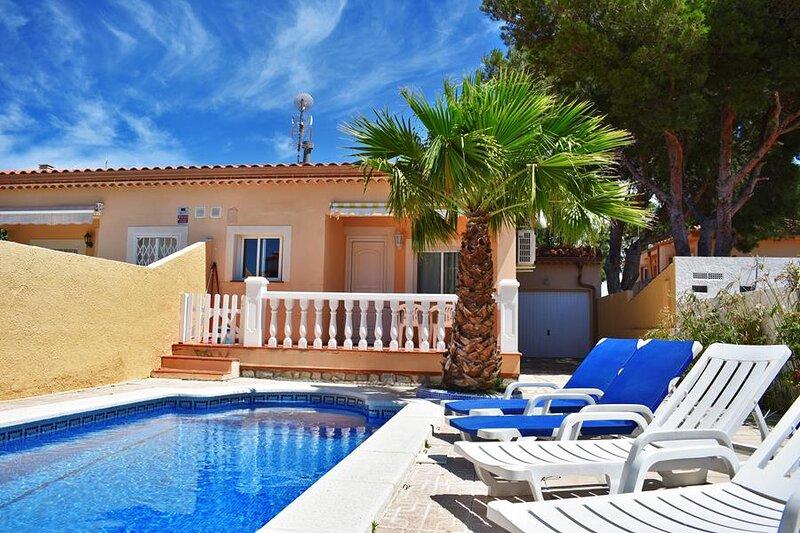 Chalet Terol, piscina privada, aacc, wifi, location de vacances à Miami Platja