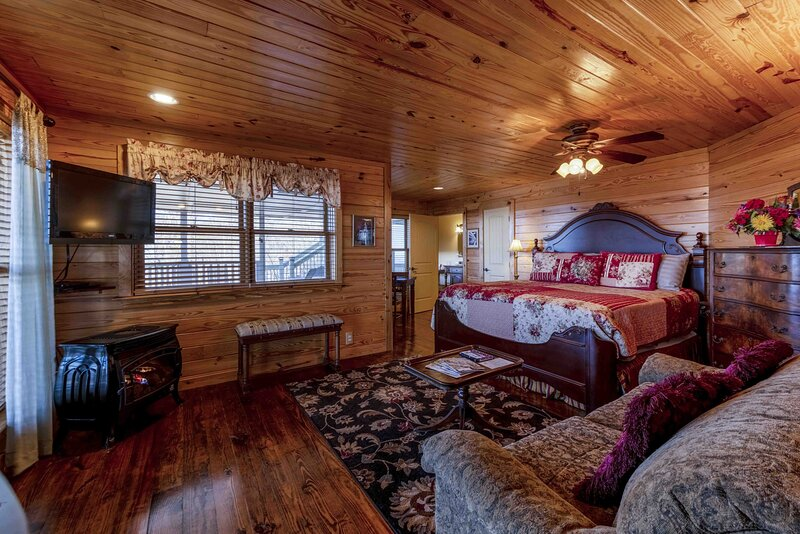 The View Suite on Lookout Mountain, location de vacances à Rising Fawn