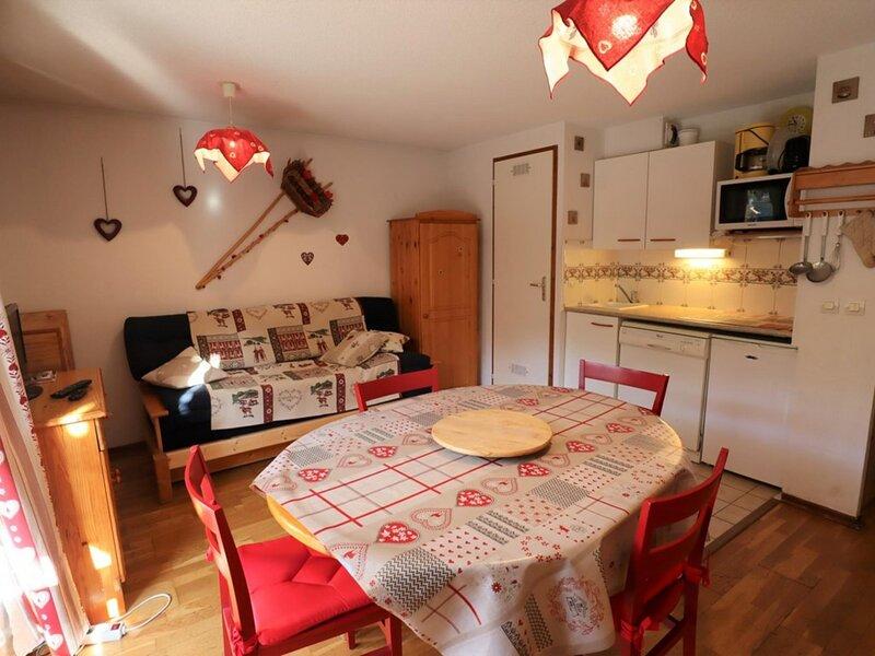 Agréable et spacieux  appartement  de 33m² pour 6 personnes, location de vacances à Areches Beaufort