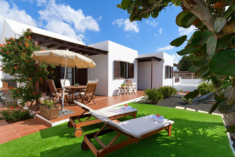 Casa Pamipa, relax y confort junto a la Playa de la Concha en Playa Honda, alquiler vacacional en Playa del Cable