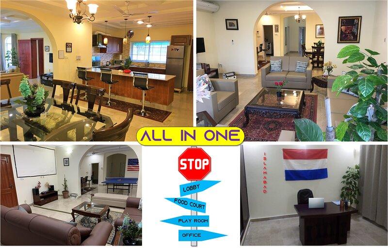 Luxury Vacation Home Resort (Sector D-12), alquiler vacacional en Islamabad