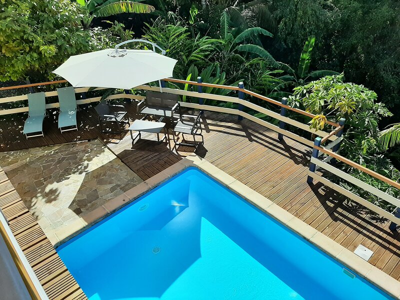Apartment with swimming-pool, holiday rental in Morne-A-l'Eau