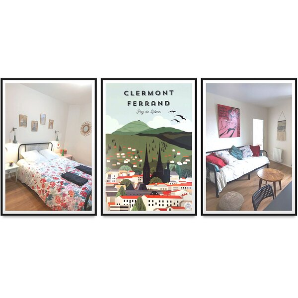Appartement design et chaleureux, centre-ville, holiday rental in Clermont-Ferrand