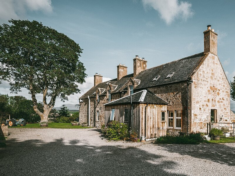 Balavil Farmhouse, location de vacances à Dingwall