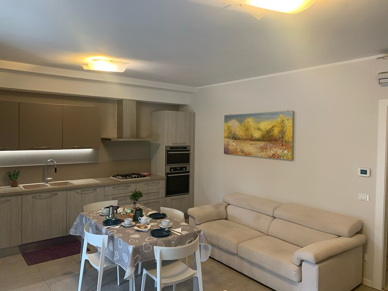 Le noir appartment, holiday rental in Ronchi