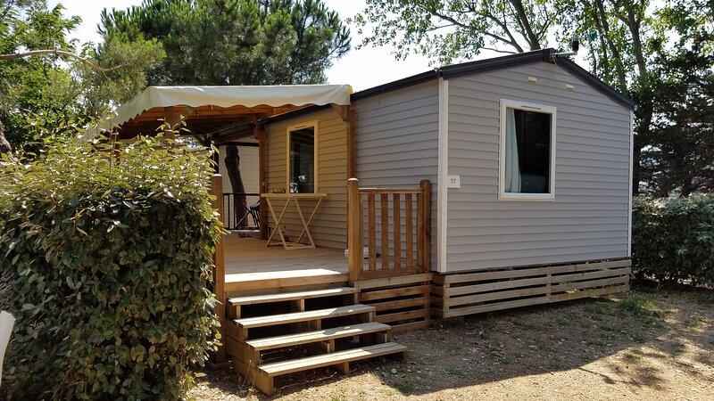 Mobil home climatisé deux chambres, casa vacanza a Port La Nouvelle