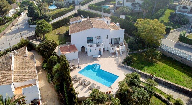 VILLA 'VISTA JAVEA' - Home away from home !, vacation rental in El Tosalet