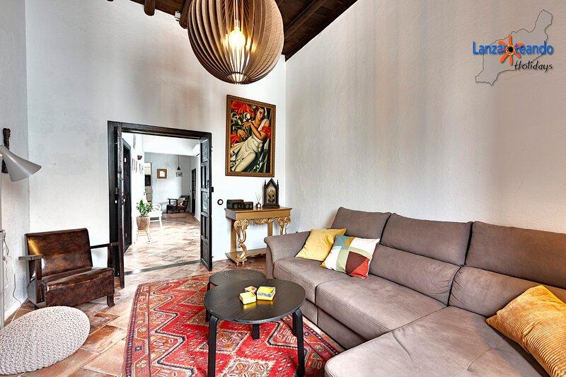 Maravillosa casa tradicional en Teguise, aluguéis de temporada em Teseguite