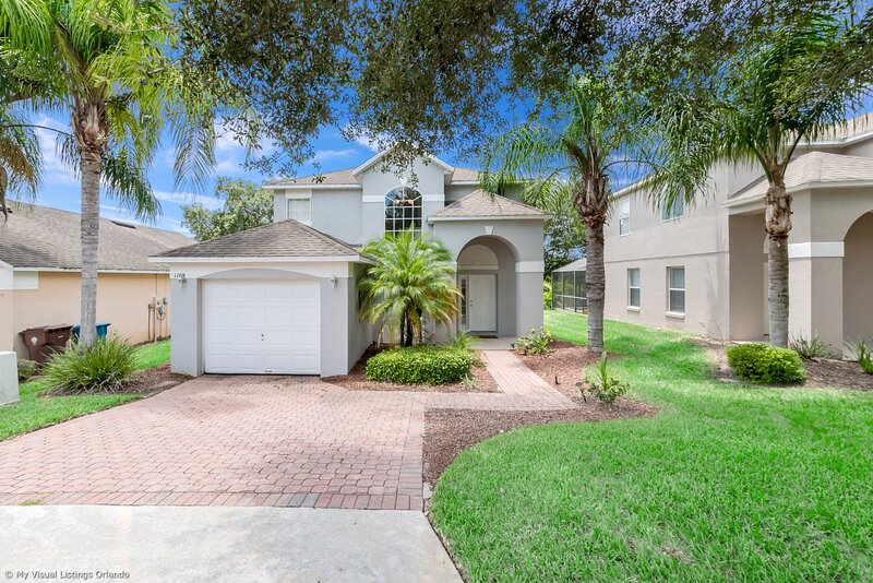 Beautiful 4 Bed Home With South Facing Pool 1108MC, holiday rental in Auburndale