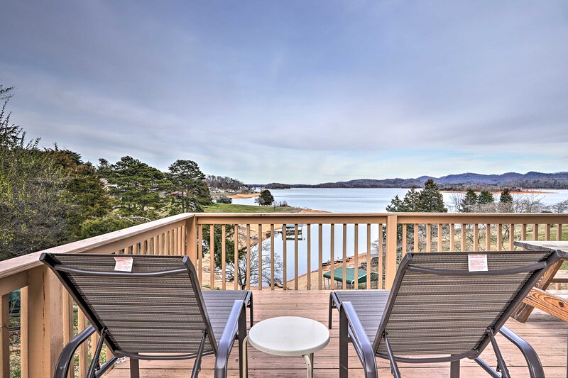 NEW! Rutledge Hilltop Home on Cherokee Lake, holiday rental in Bean Station