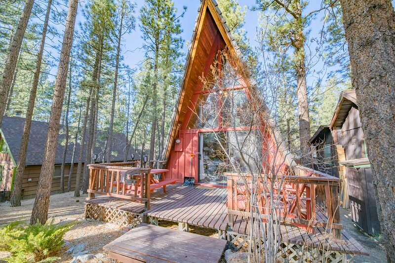 A-Frame Of Mind, alquiler de vacaciones en Big Bear City