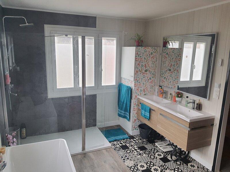 Villa  spacieuse tous conforts, au centre-ville, proche de l'océan, location de vacances à Saint-Nazaire