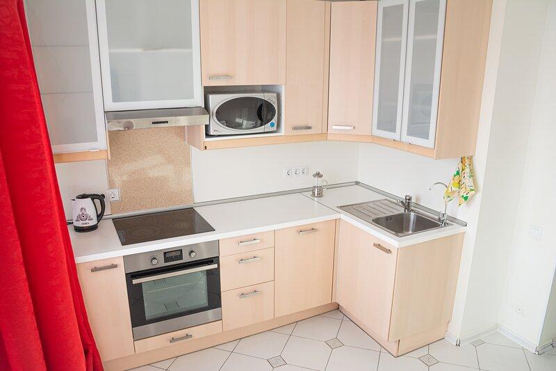 Однокомнатная квартира на Ладожской, location de vacances à Krasnogvardeysky District