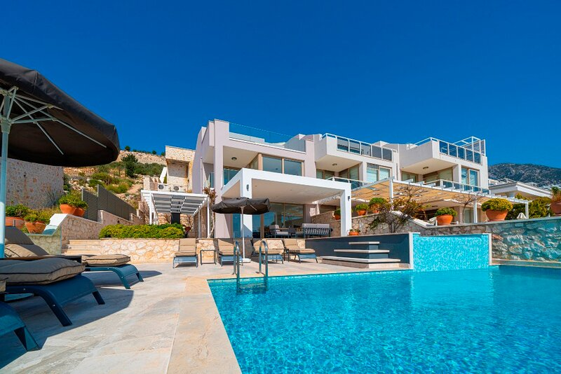 Villa Kalkan Safran View is 4 Bedroom Luxury Villa With Seaview, holiday rental in Kalkan