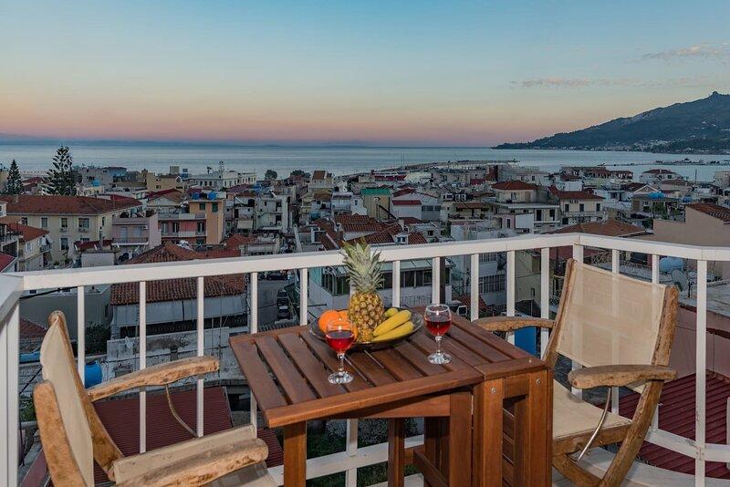 Eolia Apartment - explore Zakinthos, vacation rental in Bochali