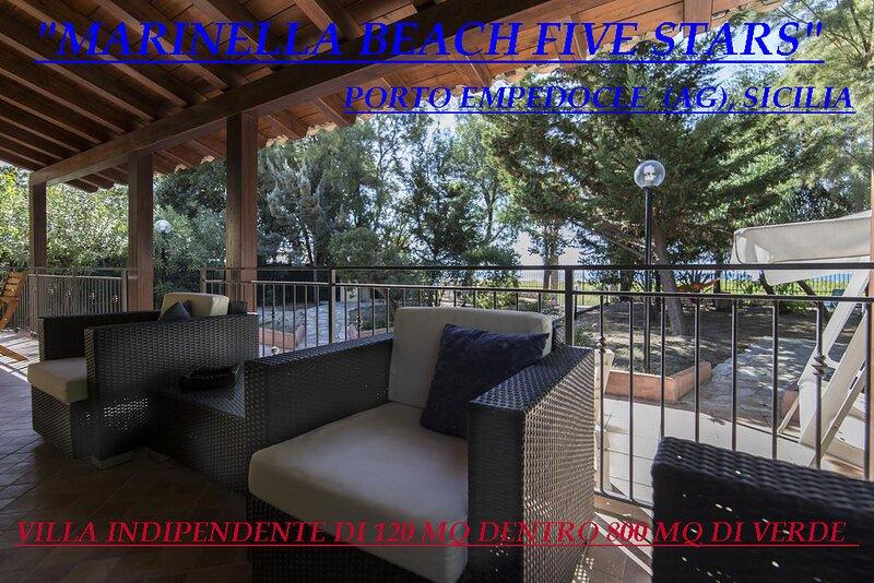 Marinella Beach Five Stars, holiday rental in Porto Empedocle