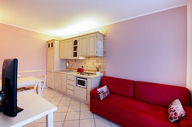 Appartamento al piano terra con giardino, location de vacances à Bovolone