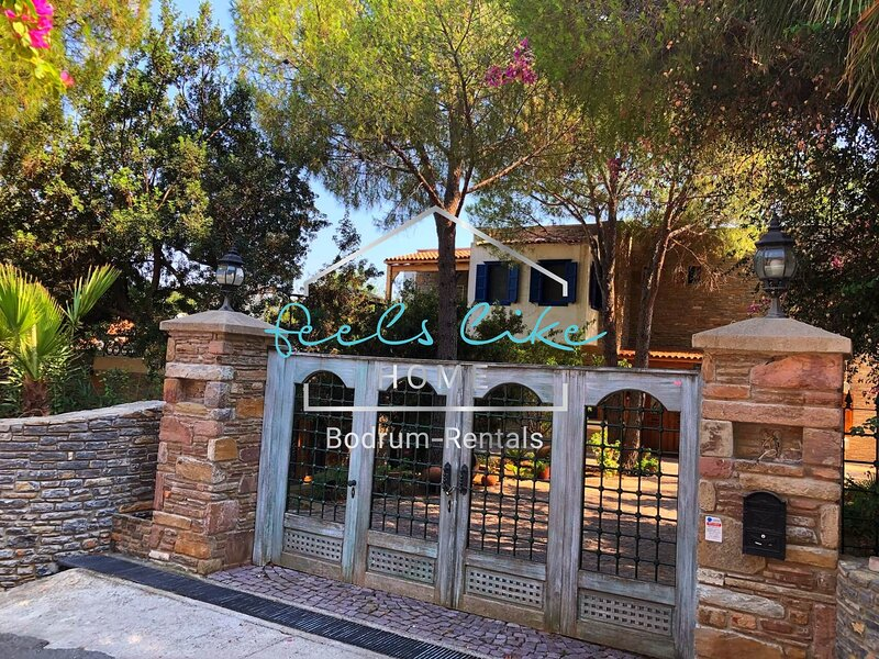 UNİQUE STONE BUİLT VİLLA, jUST FEW STEPS TO BEACH, holiday rental in Camlik