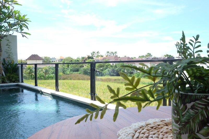 3BR Hidden cozy villa with paddy views, casa vacanza a Buwit