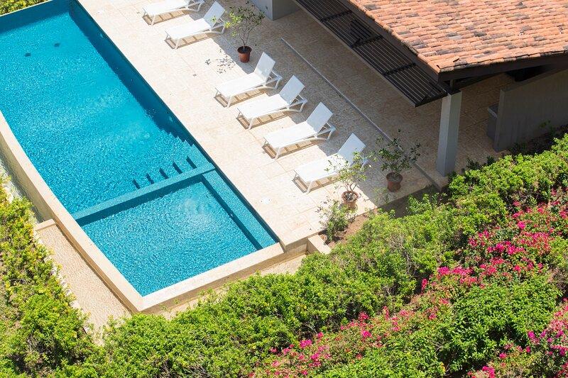 Enjoy 2 pools: Roble Sabana condominium pool and Reserva Conchal Beach Club pool!