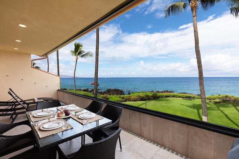 Beautiful Oceanfront Condo Unit SURF RESORT, #F-209, aluguéis de temporada em Makena