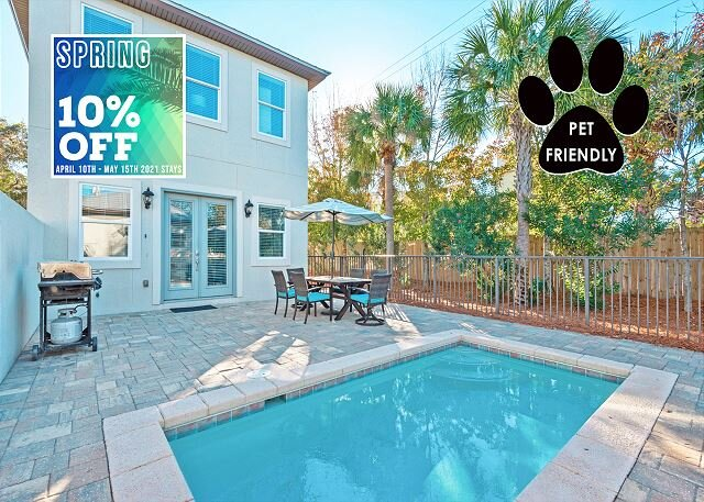 Come Sail Away - Pool, Outdoor Lounge, and Grilling Areas