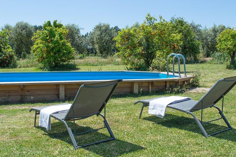 Appartamento Salvia Tenuta San.Calogero, holiday rental in Villasmundo