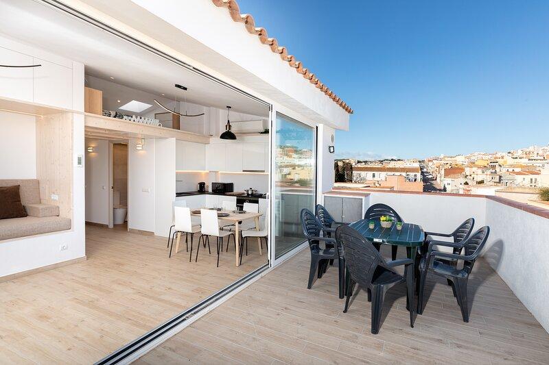 Flat carefully designed to fall in love with SFG, casa vacanza a Sant Feliu de Boada