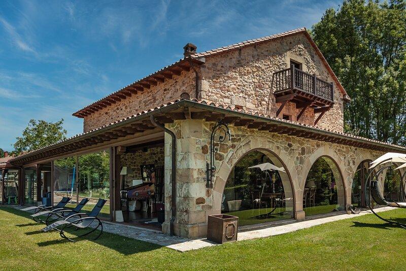 Villa de lujo Los Fresnos - Disfruta de la España Verde, casa vacanza a Solares
