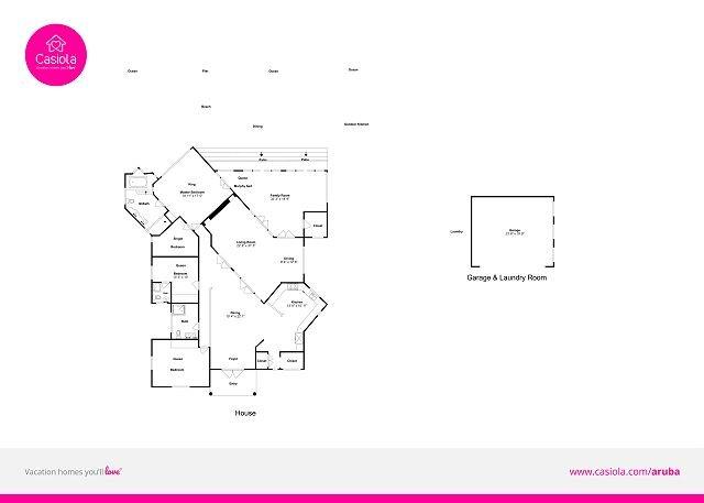 Villa Rossana floorplan