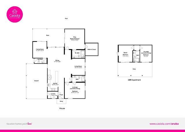 Villa Marquesa floorplan