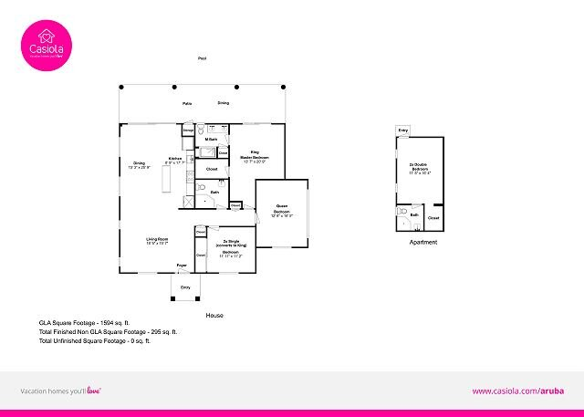 Casa Campeona floorplan