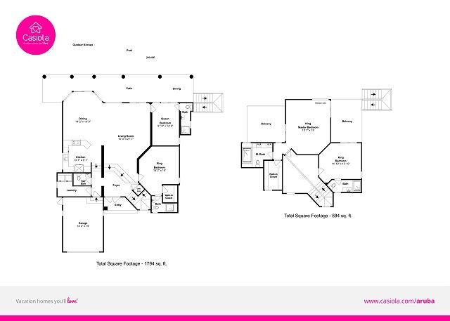 Miramar Villa floorplan