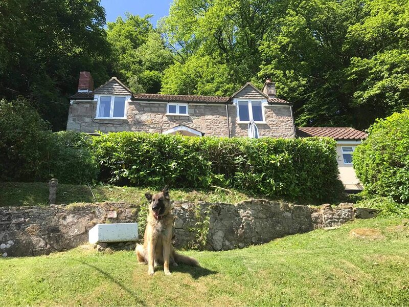 Remote, C1760 detached cottage, stunning Wye Valley & river views, 1 1/2 acres, holiday rental in Christchurch