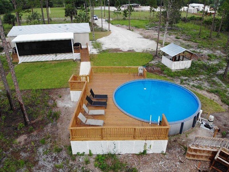 Vacation Home,Clewiston, ft. Myers 3/2 Pool&Wifi, alquiler de vacaciones en Lakeport