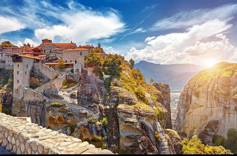 Meteora Escape - Kastraki Homey Retreat, location de vacances à Prinos