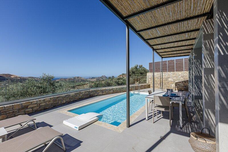 Aphrodite 2, Newly built, full privacy near beaches, holiday rental in Mixorrouma