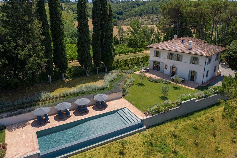 Villa il Vigneto - Luxury villa with pool, alquiler de vacaciones en Montespertoli
