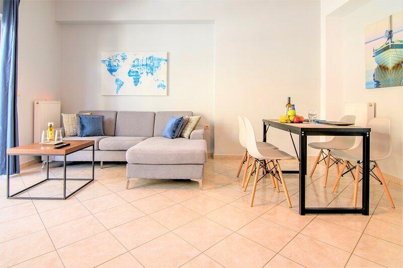 Chania Central Flat (free parking), aluguéis de temporada em Chania