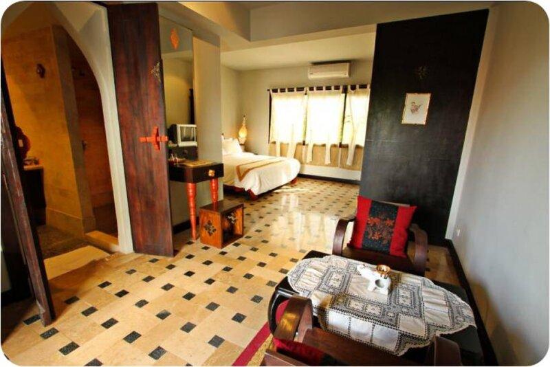 Private suite in Gudi Boutique Resort best location - clean, location de vacances à Mae Rim