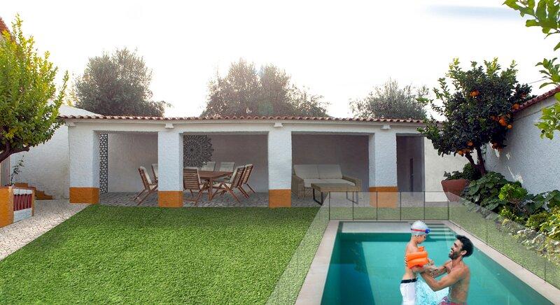 BoaCasa Private Style House in Vila Vicosa, alquiler de vacaciones en Terena