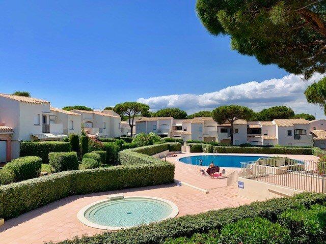 Appart. 4/6 pers. avec jardin et piscine, Ferienwohnung in Agde