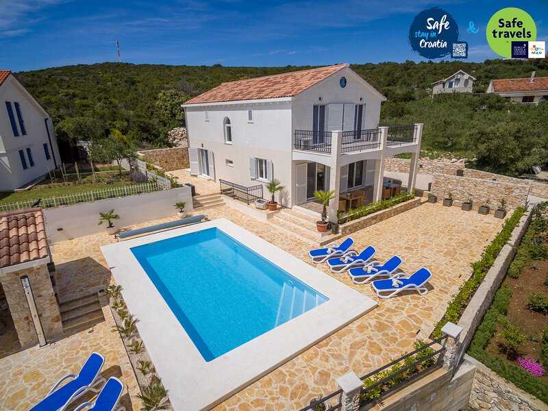 Lovely Villa Temida, on the Island Premuda, holiday rental in Silba
