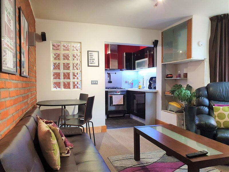 Bath Road, Old Town - Cosy, Modern 1 Bed + Garden, holiday rental in Swindon