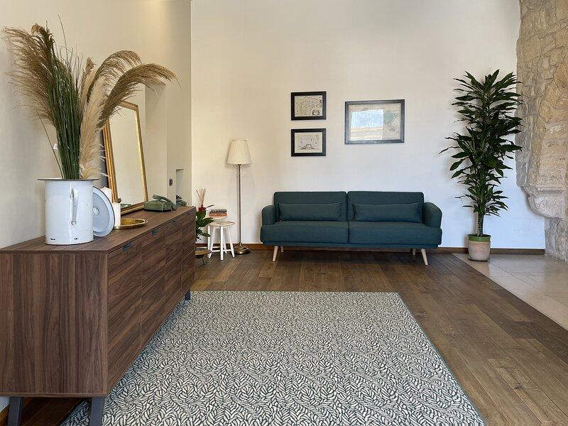 Appartamento vista porto sulle mura di Bisceglie, alquiler de vacaciones en Molfetta