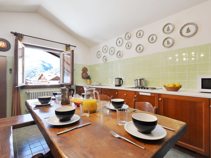 Al Parco, vakantiewoning in Canazei