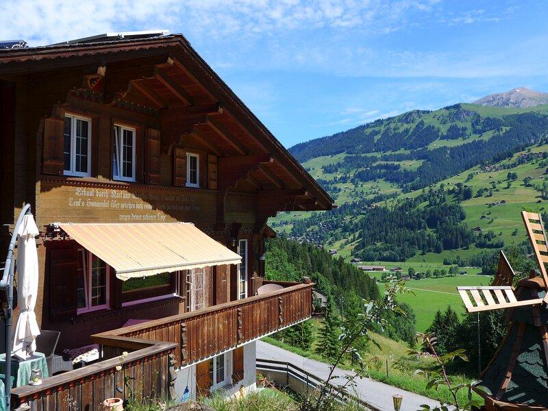 Chalet Seeberg, vacation rental in Lenk im Simmental