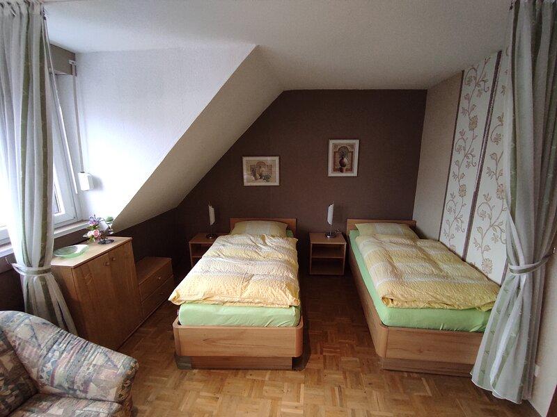 Erich Studio Apartment mit Gartenblick, location de vacances à Bocholt