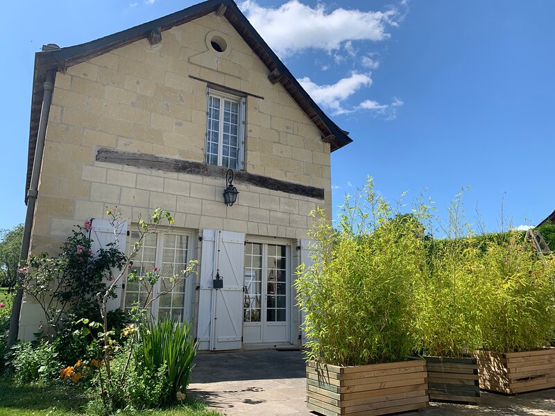 Esprit de Cinais - a beautiful country home near Chinon, holiday rental in La Roche-Clermault