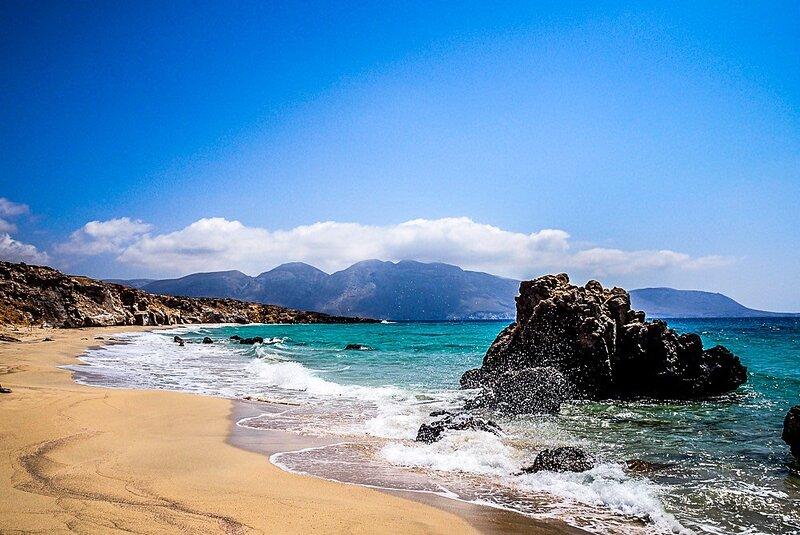 Kasos Summer Retreat - Aeriko Seaview Escape, casa vacanza a Fry